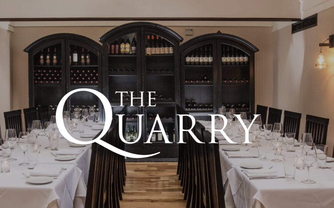 CLIENT SPOTLIGHT: The Quarry Restaurant